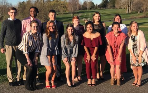 Seniors recognized at honors dinner
