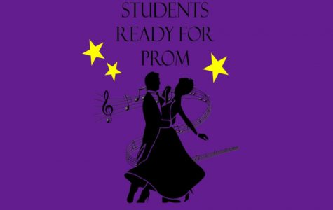 Students ready to dance under the stars at prom