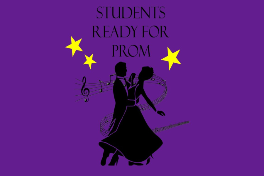 Students are ready to boogie at prom April 27.