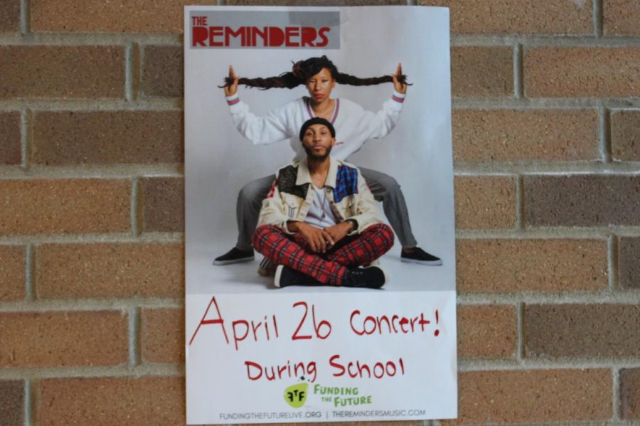 The Reminders are coming to KHS on Friday, April 26, to perform a concert about financial literacy.