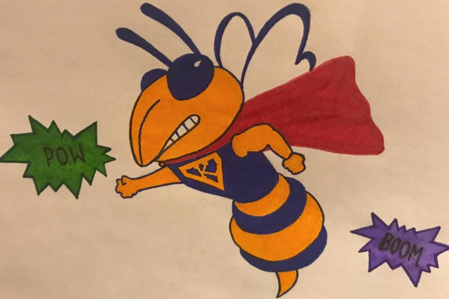 Superheroes serve as inspiration for students with their powers and high moral values.