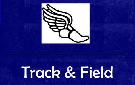 Boys track splits first league meets