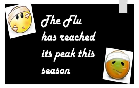 The flu has reached its peak this year