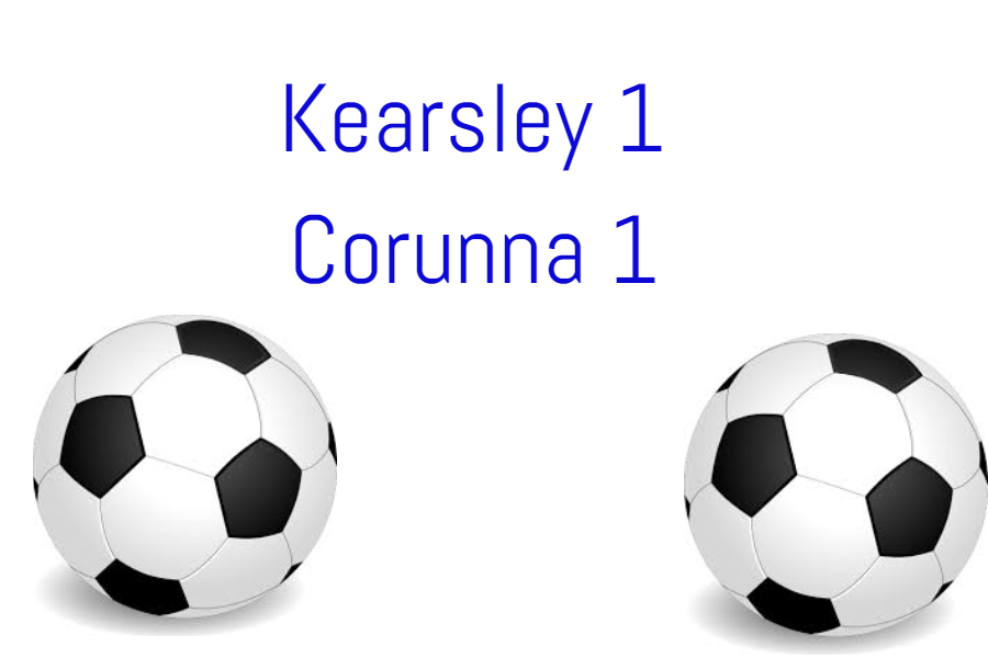 Soccer tied with Corunna 1-1 on Thursday, April 25.