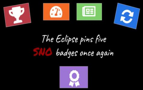 The Eclipse earns five SNO badges