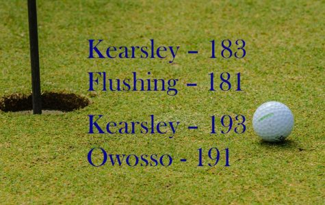Golf loses last two matches two strokes apiece