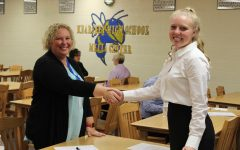 Students experience mock interviews to prepare for work