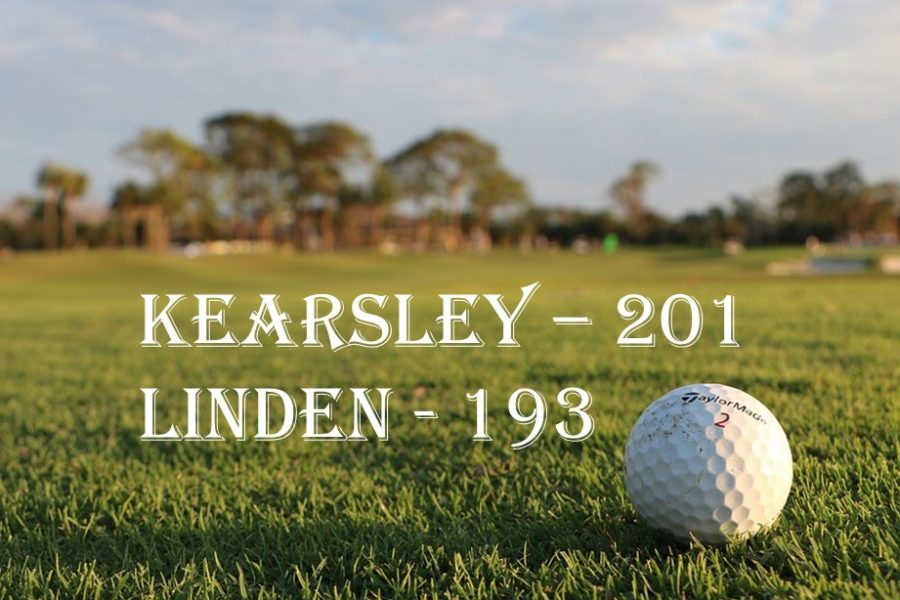 The golf team lost to Linden on Tuesday, April 30, at the Flint Elks Country Club.