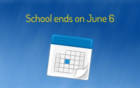 School ends June 6 after governor forgives snow days