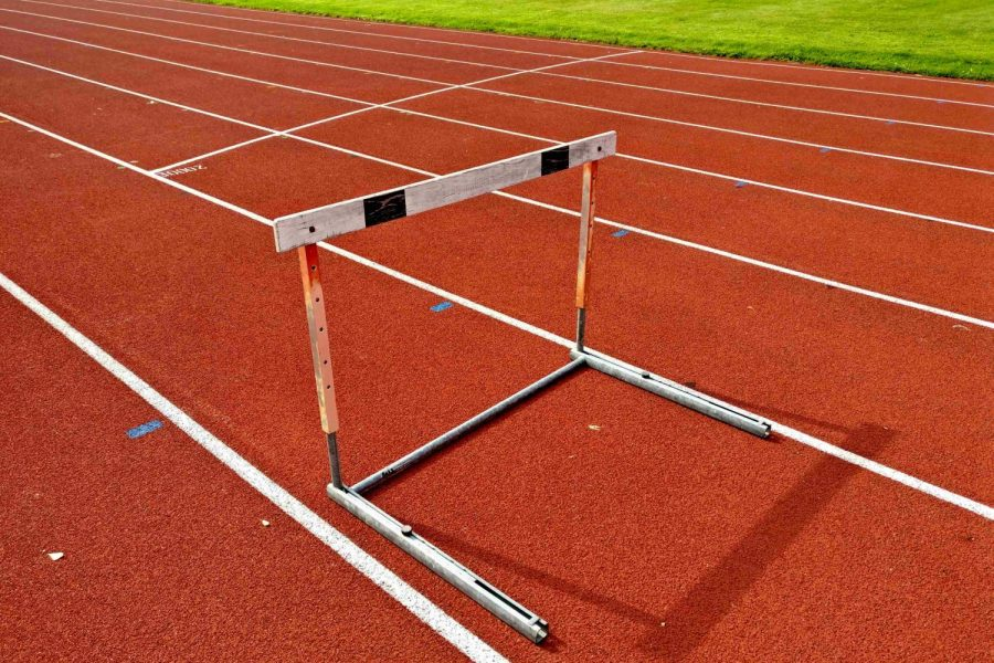 Sophomore Braylon Silvas won both the 110 high- and 300-meter hurdles in a double-dual meet against Swartz Creek and Linden on Tuesday, May 14. The Hornets beat the Eagles but fell to Creek.