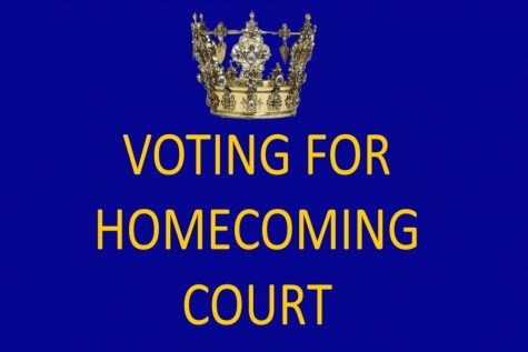 Students vote for homecoming court