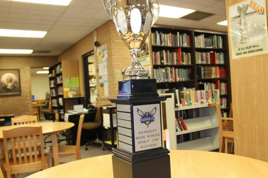 Student Council will award the Spirit Cup to the team with the most school pride during Homecoming.