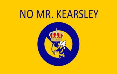 Mr. Kearsley takes a year off