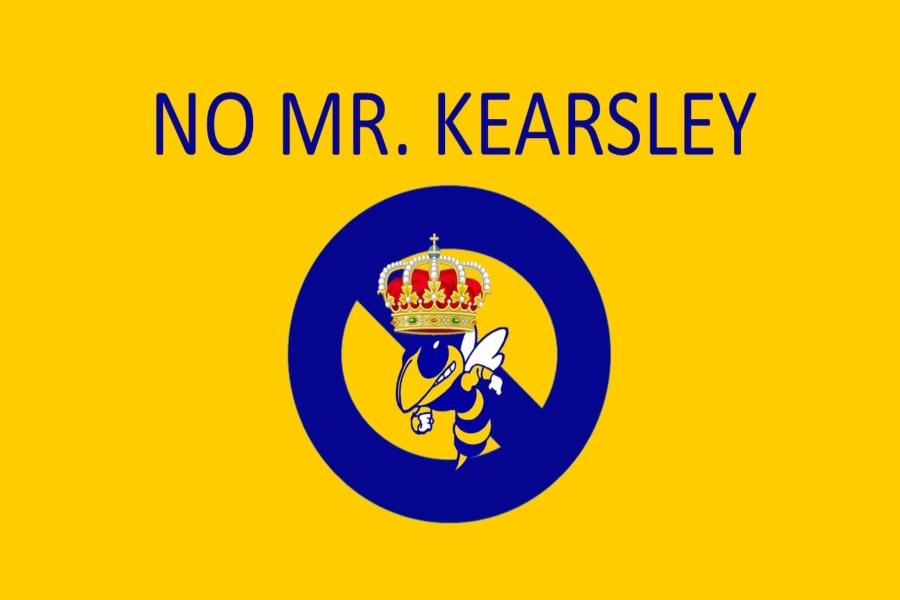 The cheer program will not sponsor Mr. Kearsley this year.