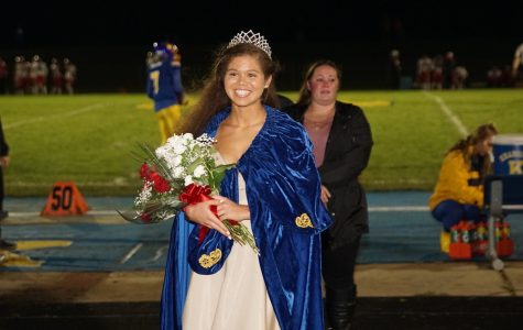 Tipton crowned homecoming queen