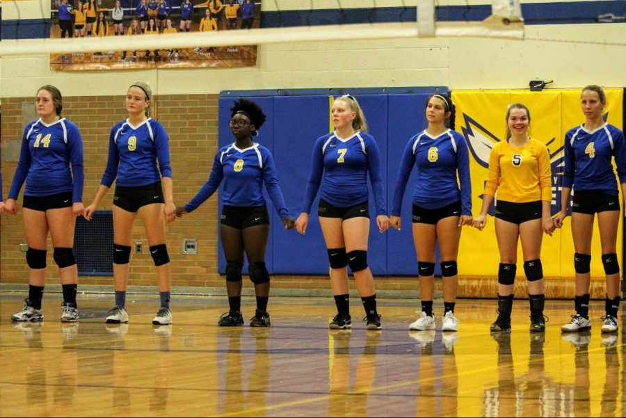Volleyball beat LakeVille Monday, Oct. 14, but lost to Fenton Wednesday, Oct. 16.