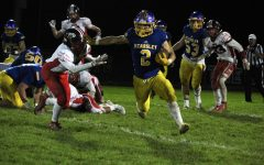Football runs over Linden, qualifies for playoffs