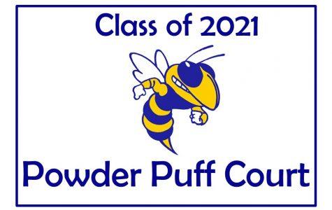 Juniors represent Class of 2021 on powder puff court