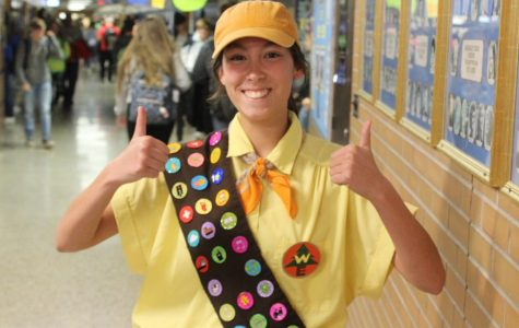 Students show movie pride on Pixar Day