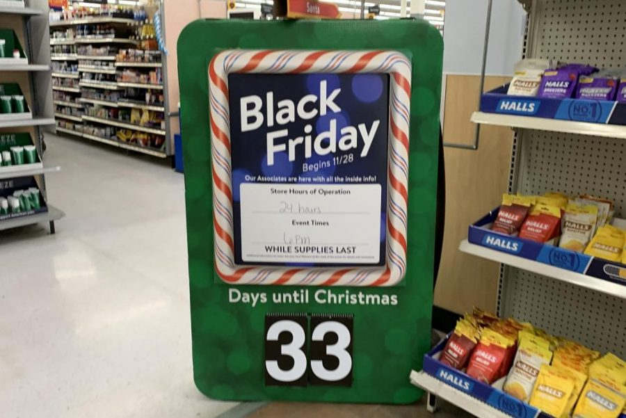 Many stores boast great savings on Black Friday, including Wal-Mart. The superstore will begin its sales late Thanksgiving day.