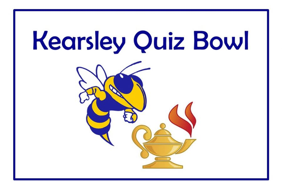 The quiz bowl team is in first place in the Genesee Academic League Division 2 standings.