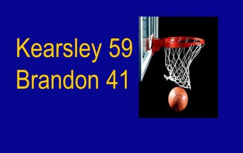 Girls basketball won 59-41 against Brandon Tuesday, Jan. 7.