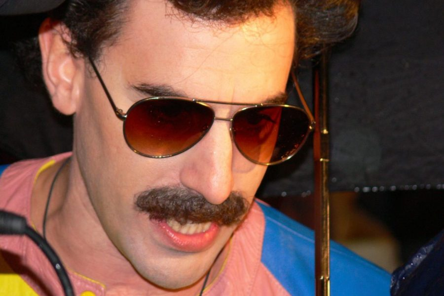 Sacha Baron Cohen portrays many characters in his comedies, including Ali G and Borat.