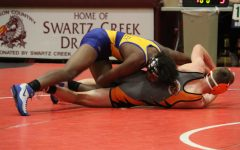 Wrestling splits Swartz Creek meet