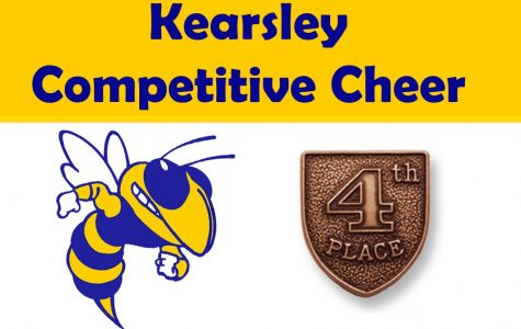 Competitive Cheer placed fourth at the Grand Blanc Invitational Saturday, Jan. 24.