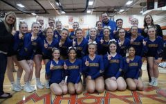 Competitive cheer wins second Metro League competition