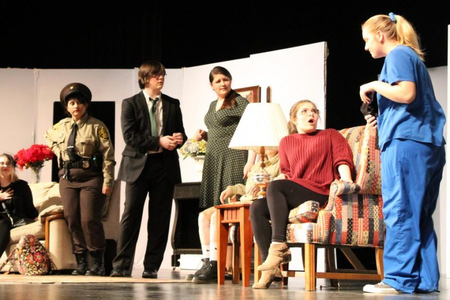 Students+starred+in+%22The+Crimson+House+Murder.%22+The+play+was+performed+from+Thursday%2C+Feb.+6%2C+to+Saturday%2C+Feb.+8.