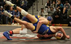 Wrestlers place at individual district tournament, qualify for regional