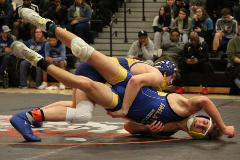 Wrestlers crowned Metro League champs