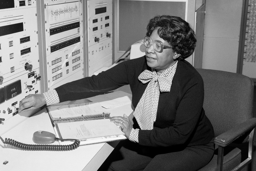 Mary Jackson used her intellectual skills to fight against discrimination in the scientific world.