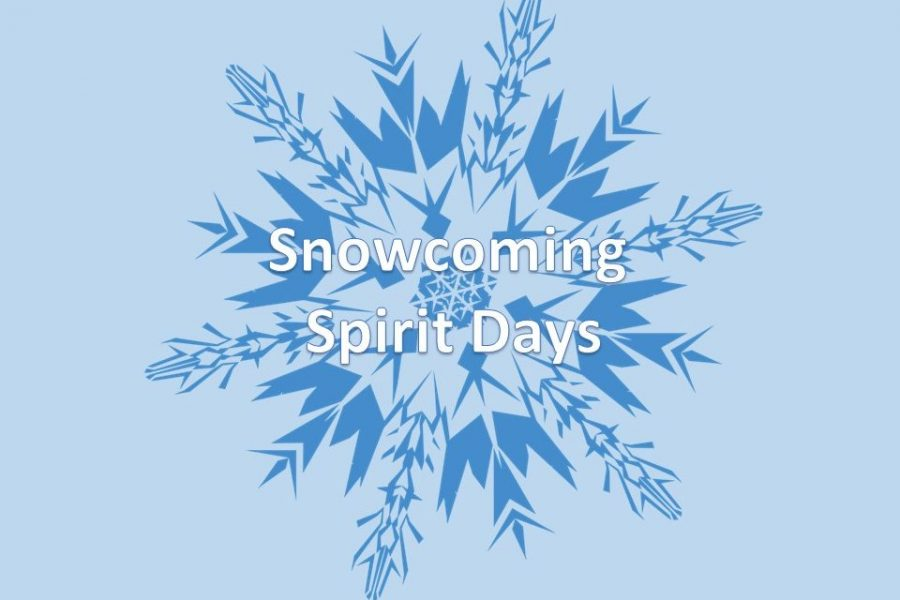 Students will participate in spirit days during snowcoming week.