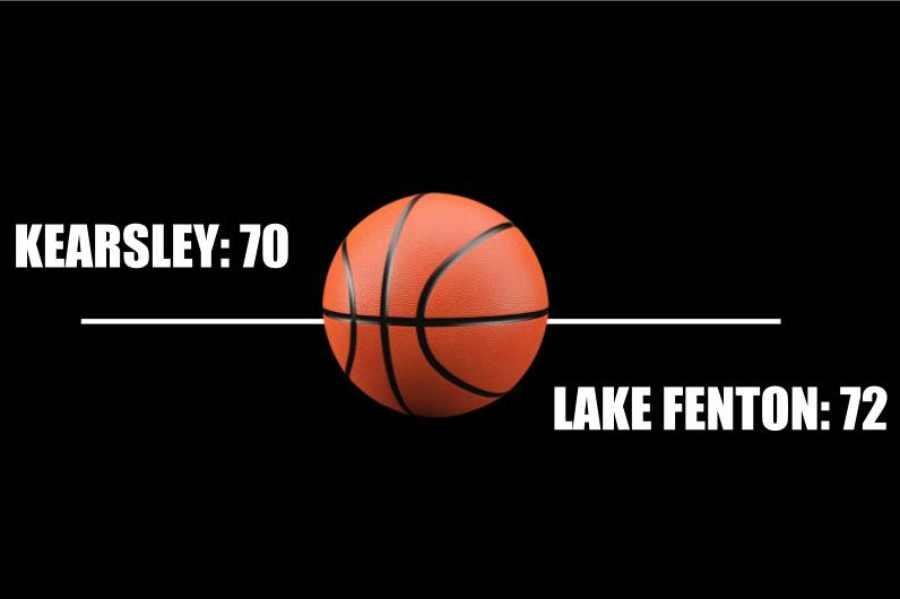 Boys basketball fell to Lake Fenton 72-70 Tuesday, Feb. 5.