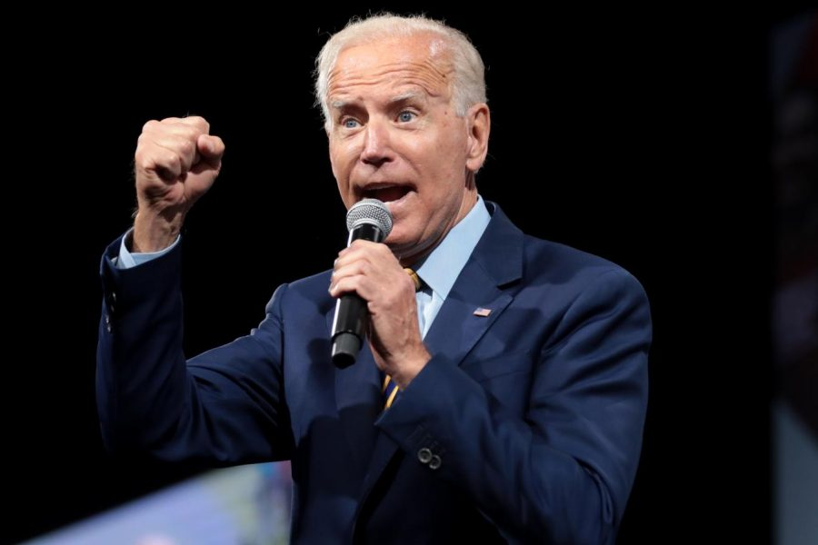 Joe Biden, a hopeful for the Democratic Party's presidential nomination, won Michigans democratic primary election Tuesday, March 10.