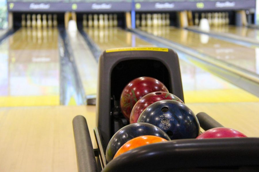 The boys bowling team competed in two tournaments but missed the opportunity to compete as a team at the MHSAA Division 3 state tournament.