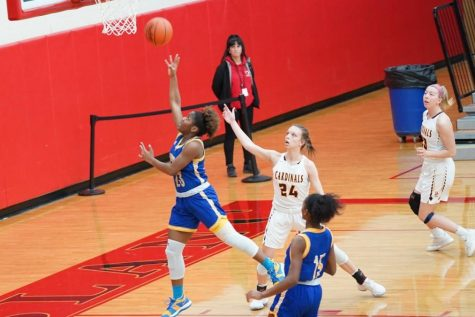 Girls basketball ended its season during the first round of the Division 3 District 4 championship Monday, March 2.