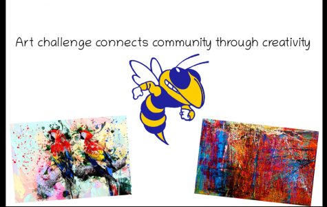Mrs. Courtney Emerick and Mr. Kirk Timmons will judge student submissions in an art challenge to bring positivity during quarantine.