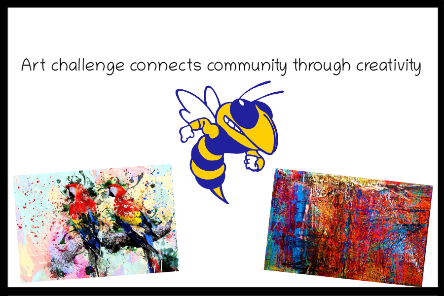 Art challenge connects community through creativity