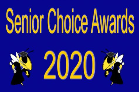 The Senior Choice Award results were announced Wednesday, May 13, by Senior Class President Stacia Tipton.