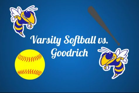 The Hornets were mercied by the Goodrich Martians in a double header Monday, April 12.