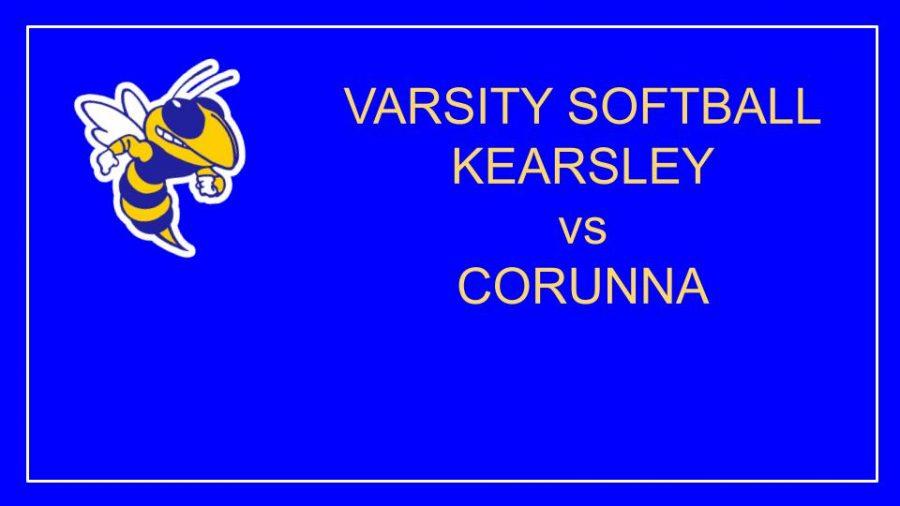 Girls Softball lose to Corunna