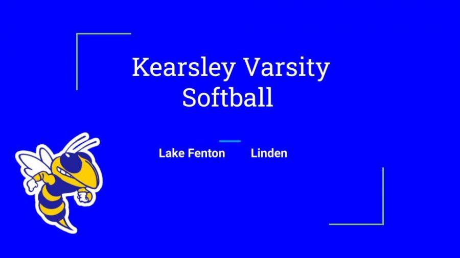 Kearsley+Softball+falls+to+Lake+Fenton+on+May+10th+and+Linden+on+May+13th.