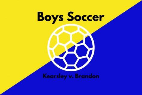 Boys soccer mercied by Brandon on Wednesday, September 8.