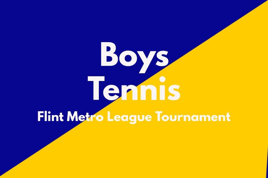 Boys+varsity+tennis+played+in+the+Flint+Metro+League+Tournament+on+September+30.+