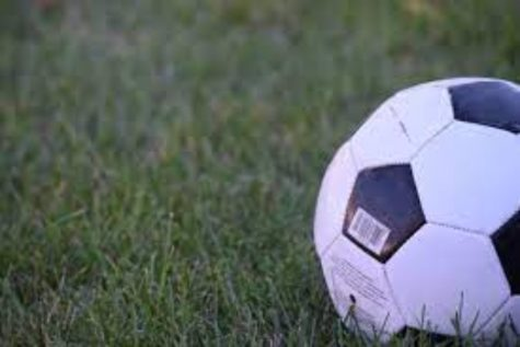 Boys soccer battles it out with Clio during Districts on Wednesday, Oct. 20.